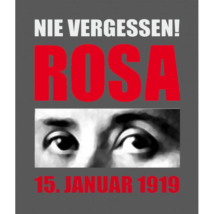 """Kapuzenpullover """"Nie Vergessen! Rosa"""""""