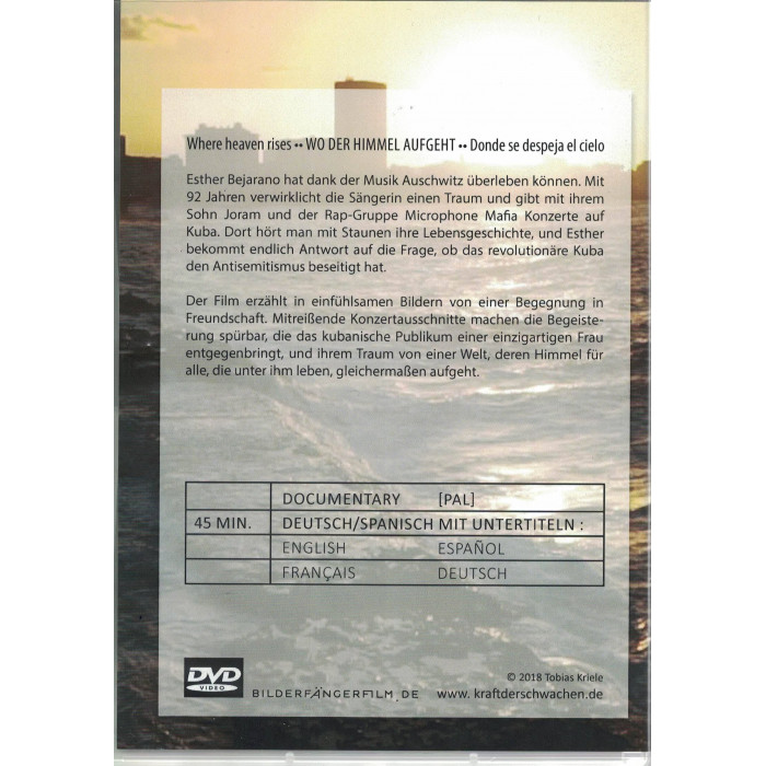 "DVD, ""Wo der Himmel aufgeht"""
