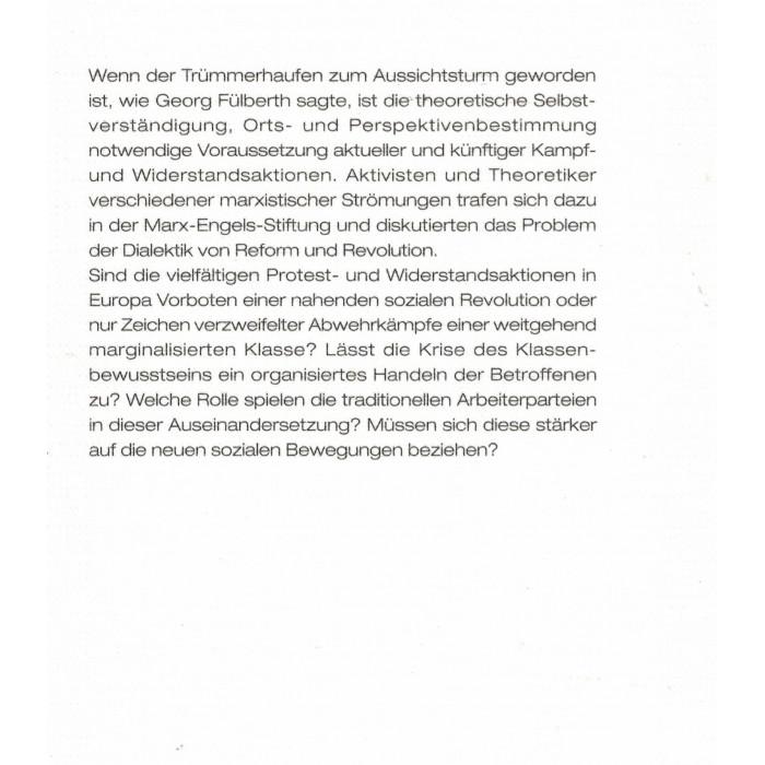 """Kellner, Lieberam, Steigerwald """"Reform und Revolution"""""""
