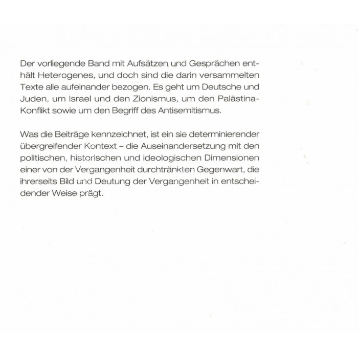 """Zuckermann, Moshe """"Wider den Zeitgeist"""" Bd.1"""