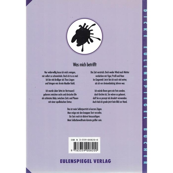 Der dicke Stengel - mit Namenszeichnung des Autors
