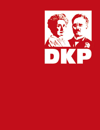 Fahne DKP Rosa & Karl