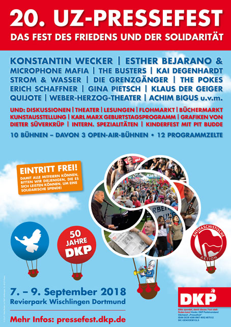 20. Pressefest der DKP