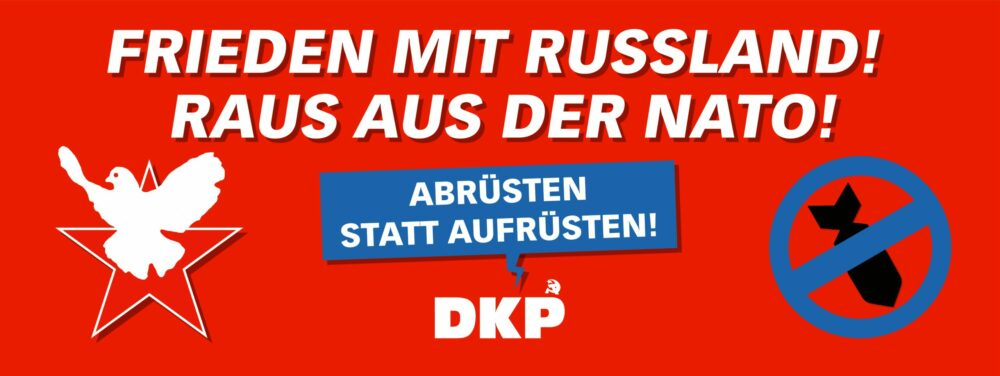 Frieden mit Russland!
