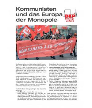Kommunsten und Monopole Europas