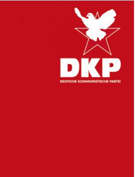 Fahne DKP Stern
