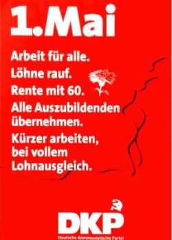 Plakat DKP 1.Mai