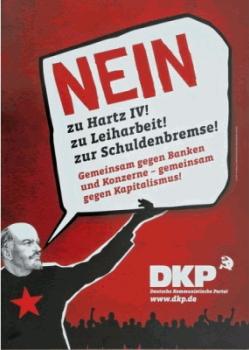 DKP Nein zu Hartz 4