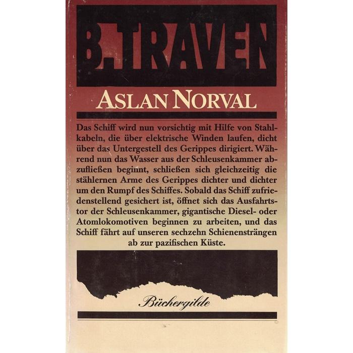 B. Traven - Aslan Norval - Roman