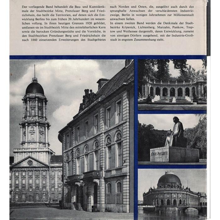 Die Bau- und Kunstdenkmale in der DDR - Hauptstadt Berlin I