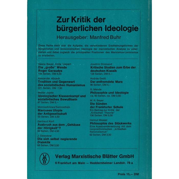 Friedrich Engels - Herrn Eugen Dürings Umwälzung der Wissenschaft
