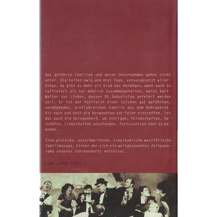 Franz Josef Degenhardt - für ewig und drei tage - Roman
