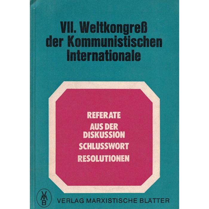 VII. Weltkongreß der Kommunistischen Internationale