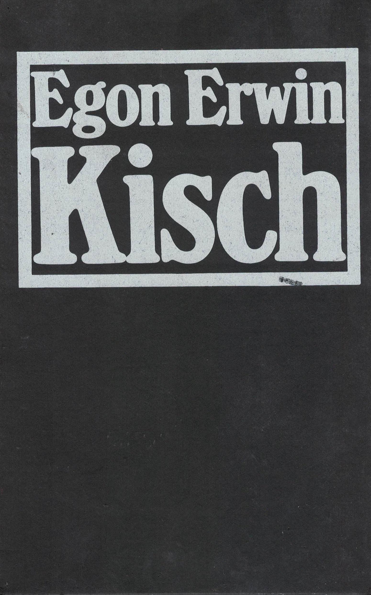 Geschenkausgabe: Egon Erwin Kisch - Nichts ist erregender als die Wahrheit - 2 Bände