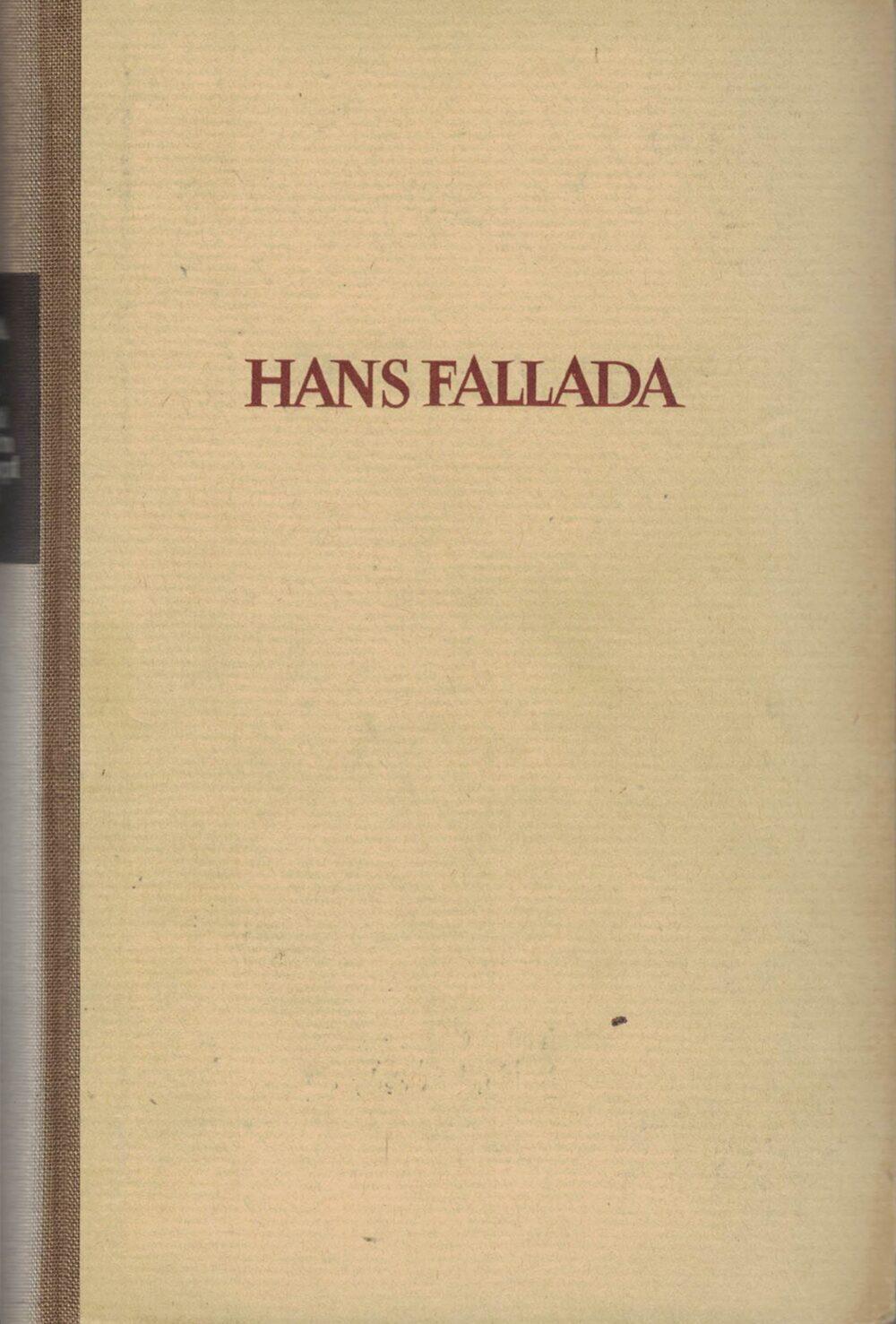 Hans Fallada - Wer einmal aus dem Blechnapf frist - Roman