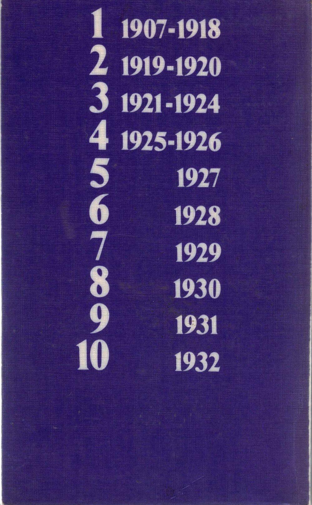 Kurt Tucholsky - Gesammelte Werke in 10 Bänden