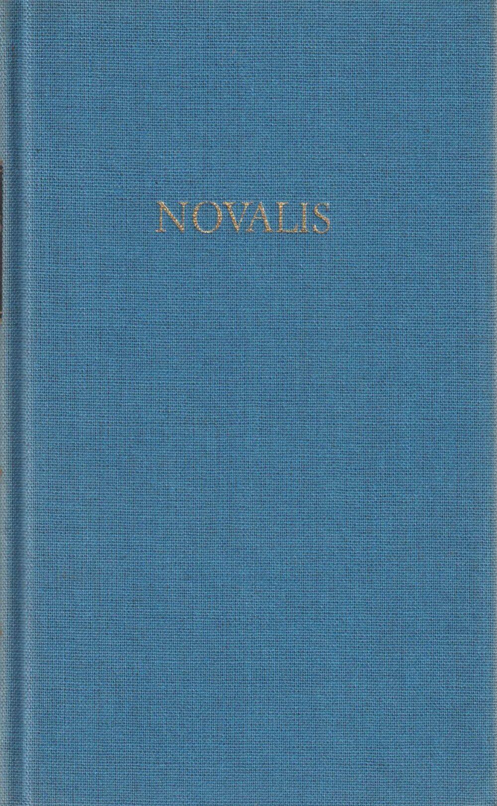 Novalis Werke in einem Band