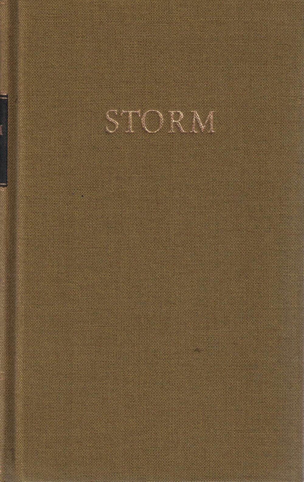 Storm Werke in zwei Bänden
