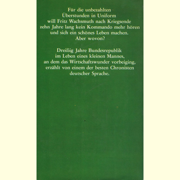 August Kühn - Fritz Wachsmuths Wunderjahre - Roman