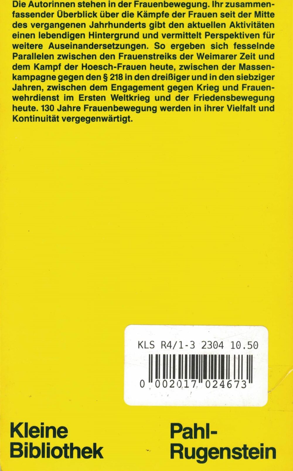 Florence Hervé (Hrsg.) - Geschichte der deutschen Frauenbewegung