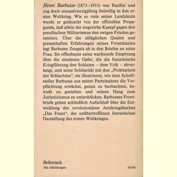 Henri Barbusse - Briefe von der Front