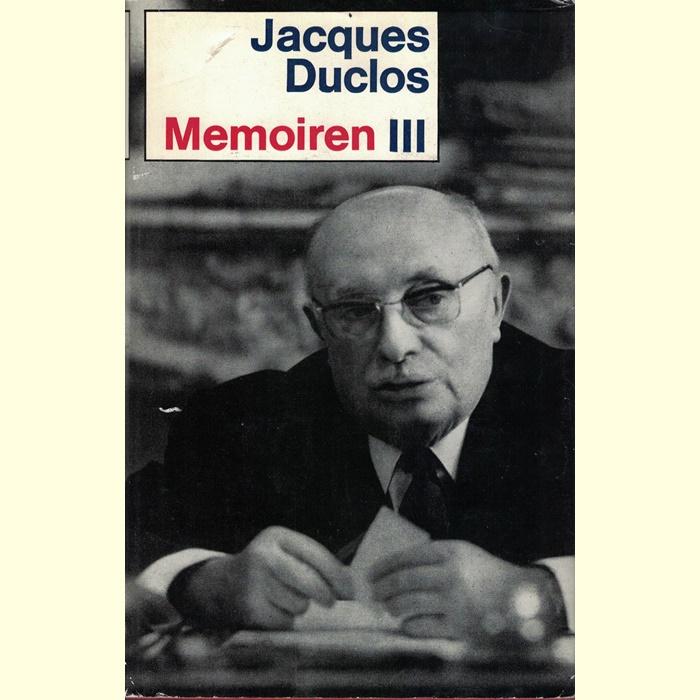 Jacques Duclos - Memoiren - 3 Bände.