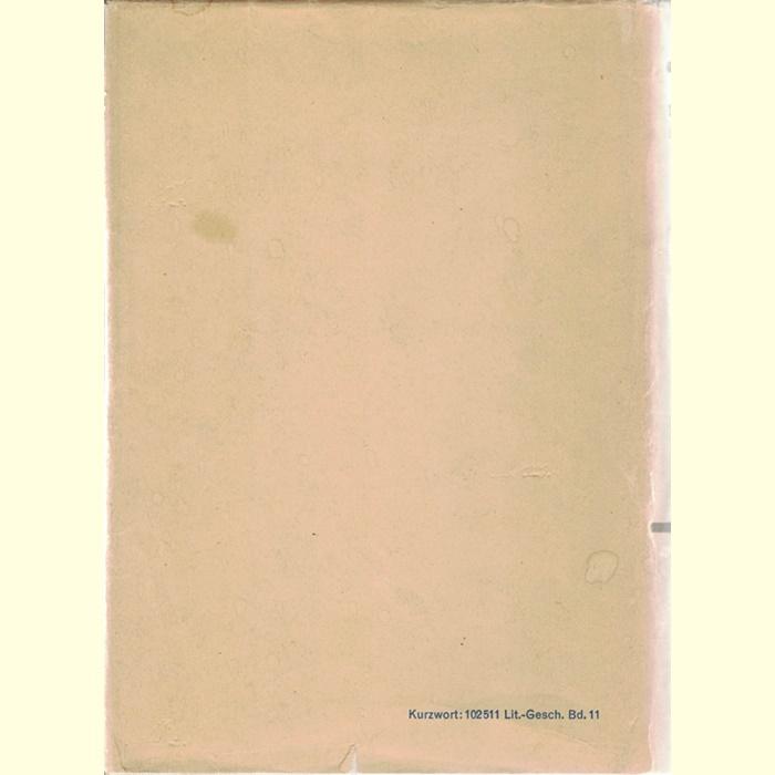 Geschichte der deutschen Literatur - Literatur der DDR - Von einem Autorenkollektiv