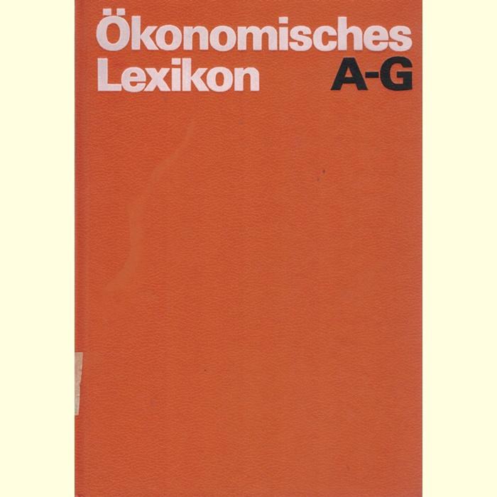 Ökonomisches Lexikon in 3 Bänden