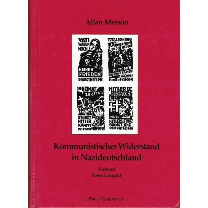 Allan Merson, Kommunistischer Widerstand in Nazideutschland