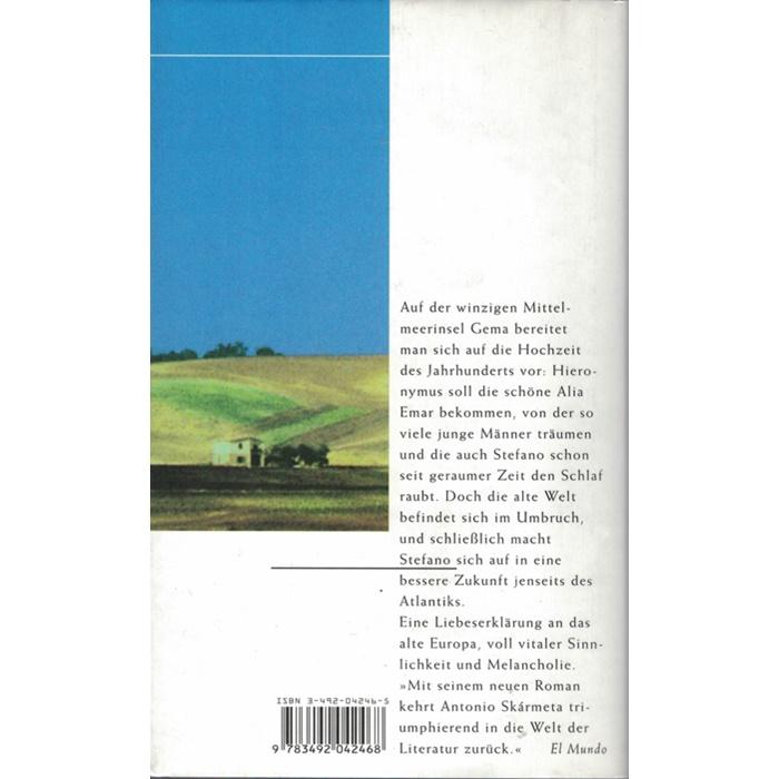 Antonio Skármeta, Die Hochzeit des Dichters - Roman