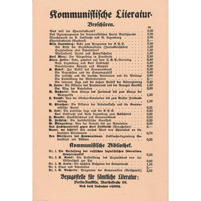 Bericht über den Gründungsparteitag der Kommunistischen Partei Deutschlands