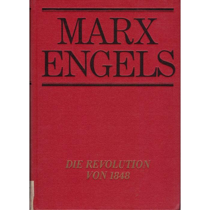 Friedrich Engels, Die Revolution von 1848