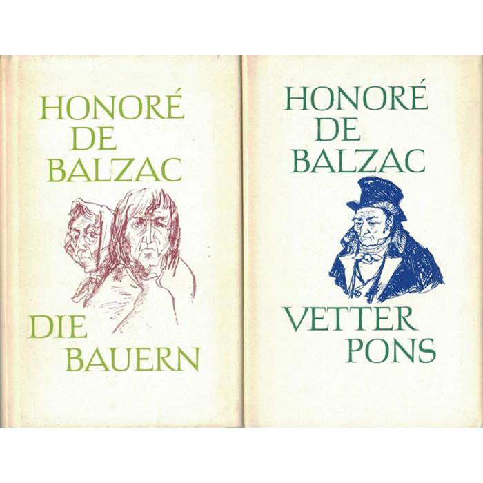 Honoré de Balzac, Sammlung aus 9 Bänden