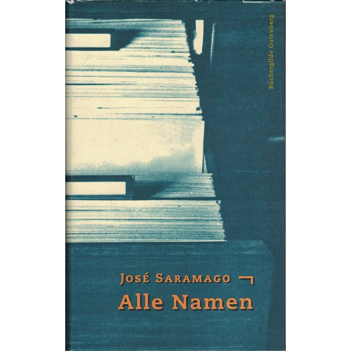 José Saramago, Alle Namen, Roman