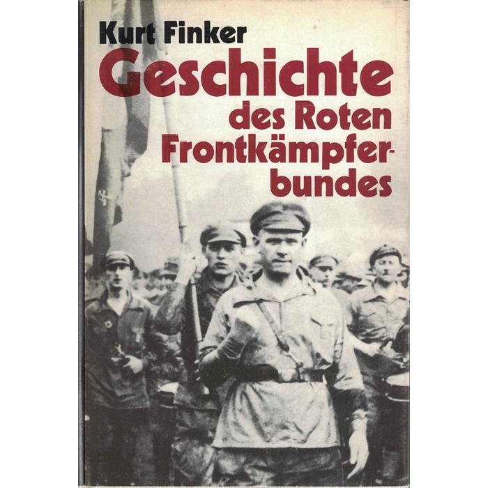 Kurt Finker, Geschichte des Roten Frontkämpfer-Bundes