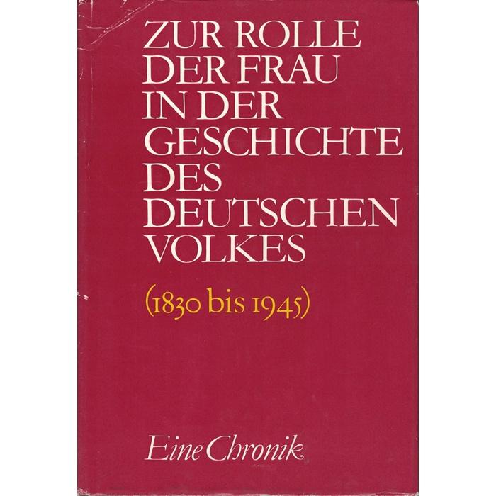 Zur Rolle der Frau in der Geschichte des deutschen Volkes