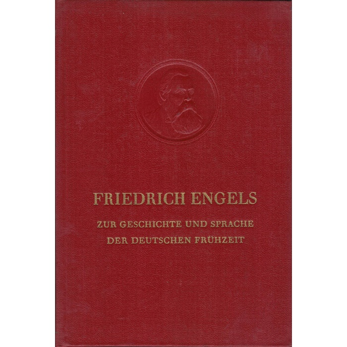 Friedrich Engels, Zur Geschichte der Sprache der deutschen Frühzeit