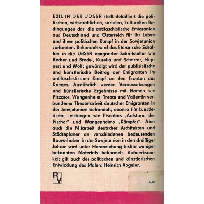 Exil in Der UDSSR