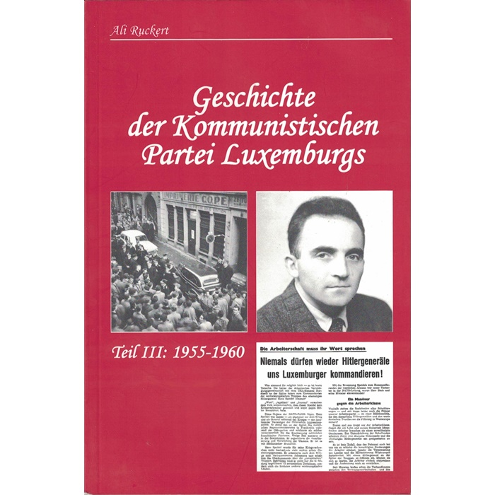 Geschichte der Kommunistischen Partei Luxemburgs