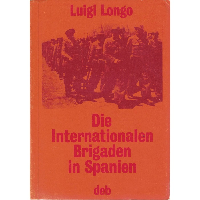 Luigi Longo, Die Internationalen Brigaden in Spanien