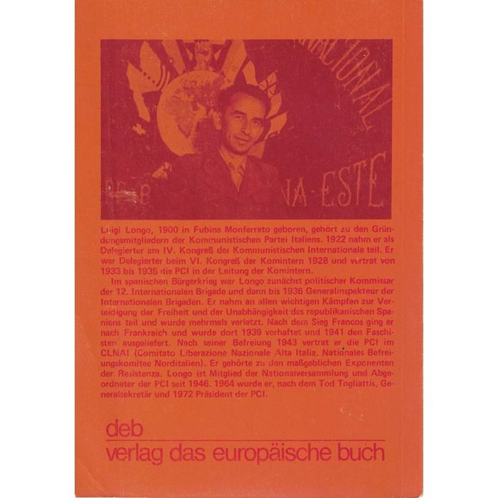 Luigi Longo, Die Internationalen Brigaden in Spanien