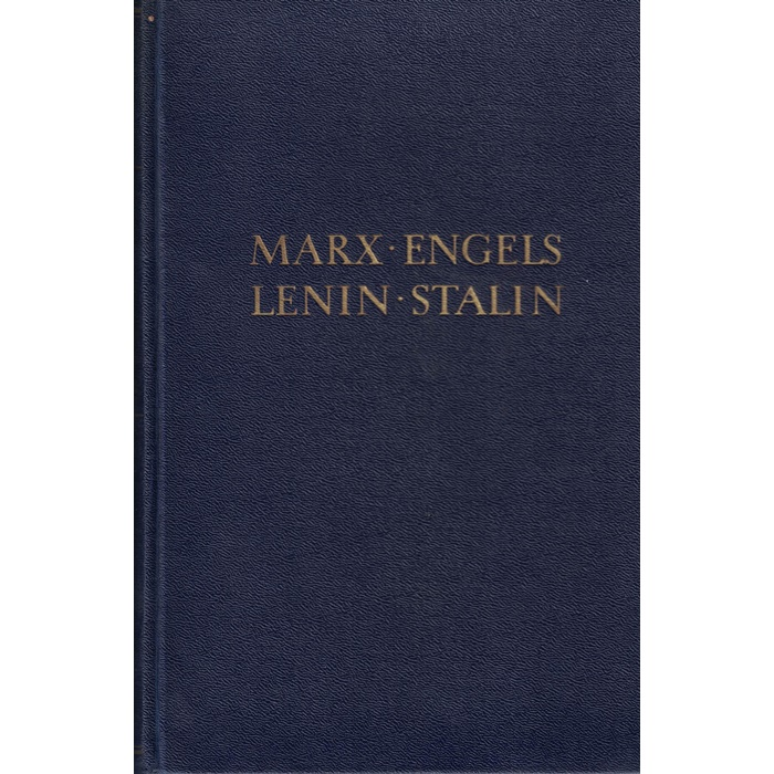 Marx . Engels . Lenin . Stalin, Zur deutschen Geschichte - 2 Bände