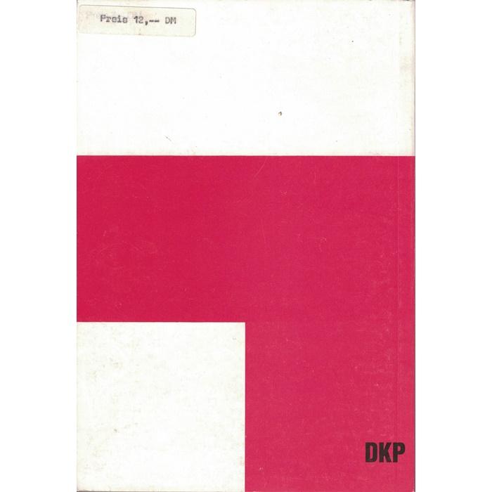 Protokoll des Essener Parteitages der DKP