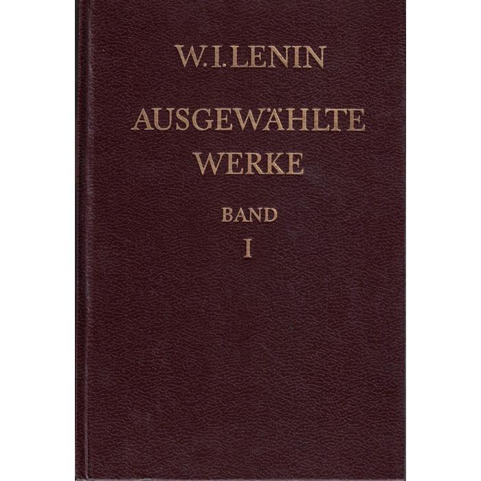 W.I.Lenin Ausgewählte Werke 3 Bände