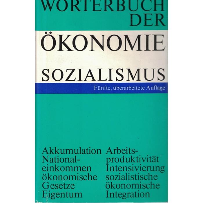 Wörterbuch der Ökonomie Sozialismus