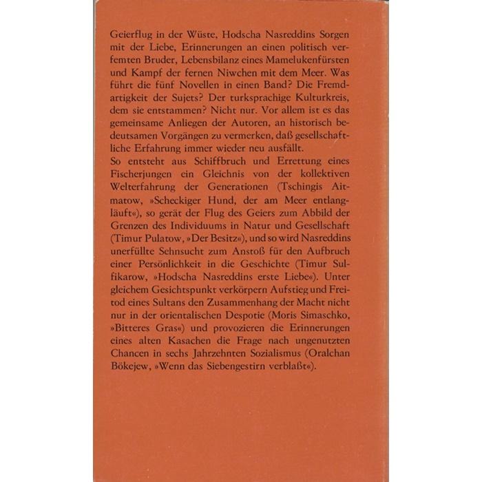 Erlesenes 4 - Novellen aus Mittelasien