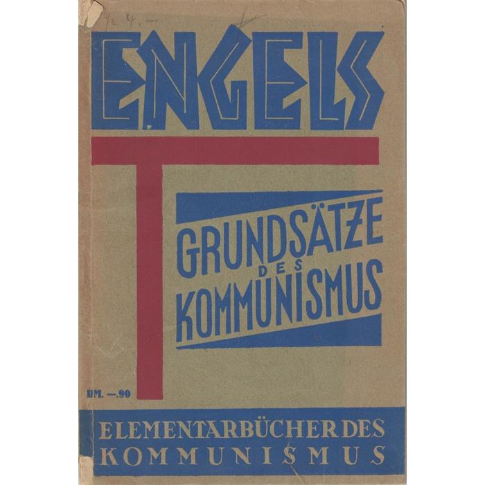 Friedrich Engels, Grundsätze des Kommunismus