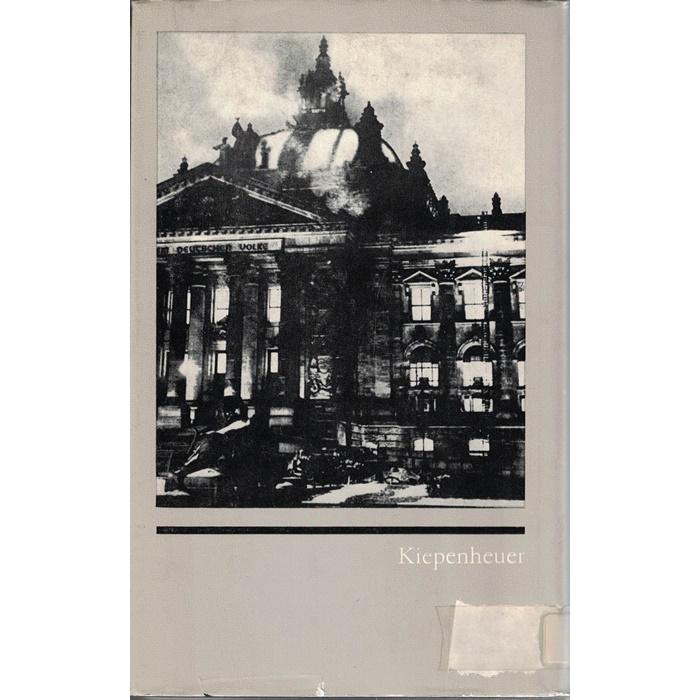 In jenen Tagen ... Schriftsteller zwischen Reichstagsbrand und Bücherverbrennung