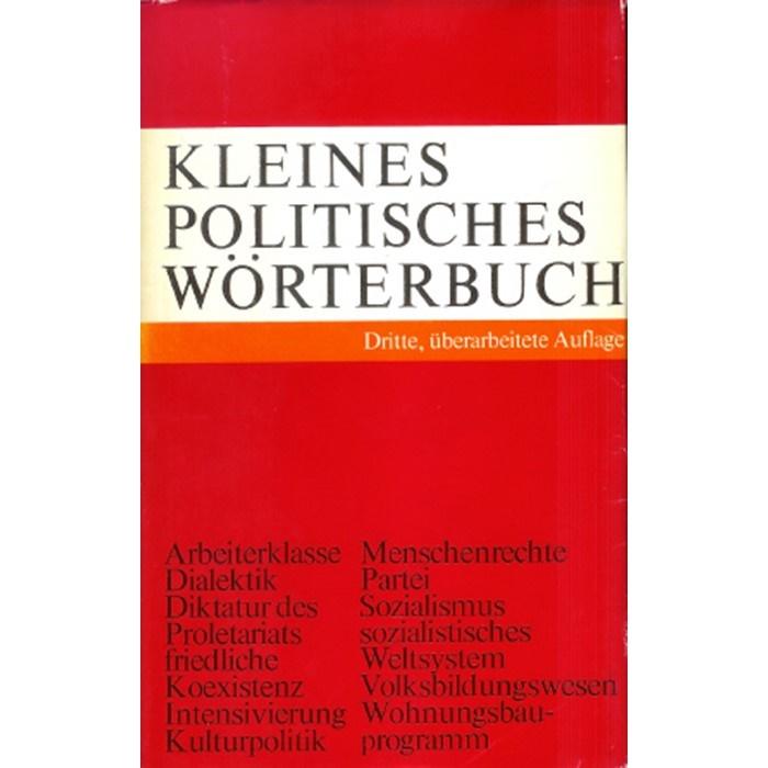 Politisches Wörterbuch
