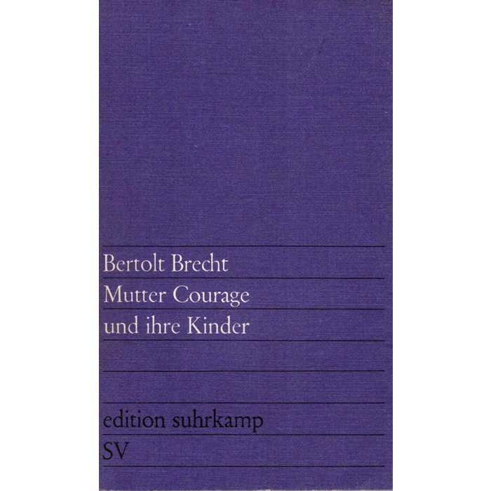Brecht Mutter Courage